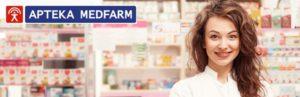 farmaceutka, kobieta, uśmiech