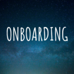 Napis onboarding