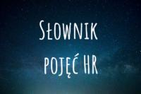 napis słownik pojęć HR