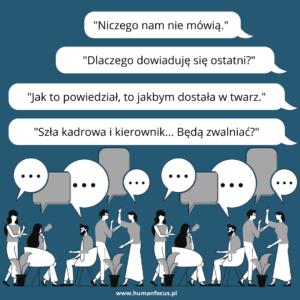 nieefektywna komunikacja wewnętrzna